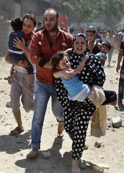 attacco gaza 16