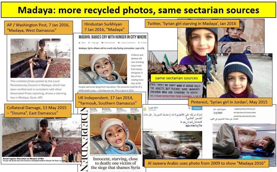 Aiuti ONU a Madaya