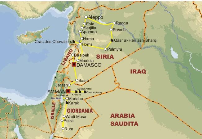 Cartina Giordania E Israele.La Giordania E La Crisi Siriana Un Rebus Geopolitico Che Rischia Di Destabilizzare Il Medioriente Spondasud Spondasud