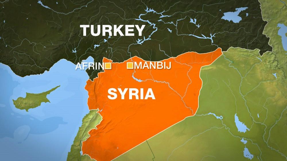 Siria, raid turco su Afrin: morti almeno 11 civili